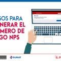 Cómo generar NPS para pagar impuestos a la SUNAT